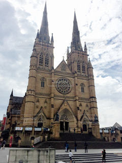 建物,海外,旅行,オーストラリア,シドニー,大聖堂