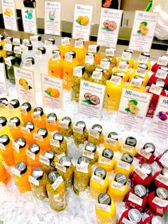 飲み物,海外,ジュース,カラフル,フルーツ,果物,外国,タイ,スーパー,フレッシュ