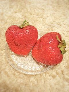 食べ物,赤,いちご,苺,デザート,フルーツ,果物,ハート,フレッシュ,イチゴ