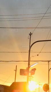 夕焼け空の写真・画像素材[1863504]