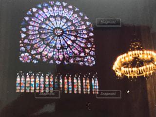 ノートルダム寺院の写真・画像素材[2033227]