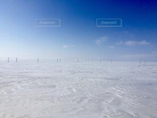 雪に覆われた斜面の写真・画像素材[1787696]