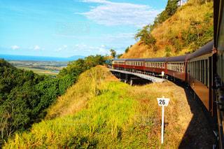風景,電車,観光,オーストラリア,鉄道,海外旅行,ケアンズ