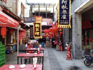 海外,観光,店,中国,海外旅行,通り,旧正月