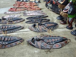 観光,店,海外旅行,お面,パプアニューギニア