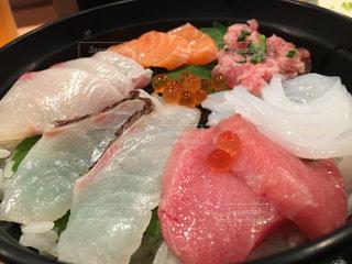 ランチ,料理,海鮮丼
