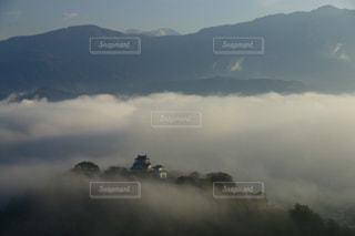 天空の城の写真・画像素材[802442]