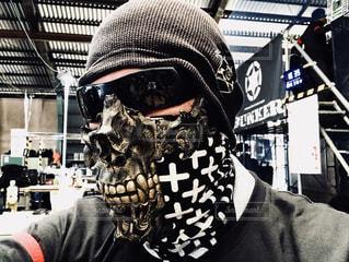 鬼マスクの写真・画像素材[1066543]
