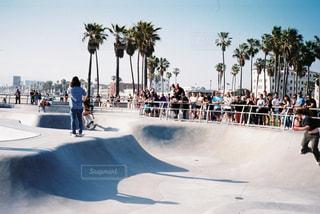 夏,海外,ビーチ,砂浜,アメリカ,旅行,スケートボード,ヤシの木,ロサンゼルス,beach,フィルム,西海岸,パームツリー,ベニスビーチ,フィルム写真,スケートパーク,スケーター,フィルムフォト