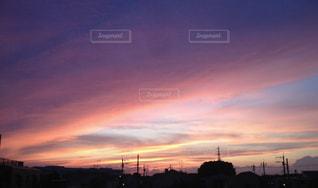 夕焼け空の写真・画像素材[1805709]