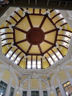 建物,屋内,駅,黄色,東京駅,アート,デザイン,天井,装飾,yellow