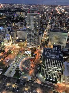 札幌の夜景の写真・画像素材[1876421]