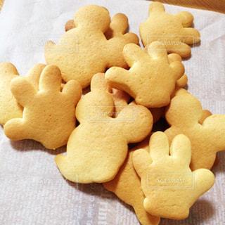 スイーツ,お菓子,クッキー,手作り,ミッキー,ミルクティー色