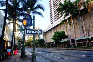 海外,標識,旅,信号,ハワイ,ワイキキ,海外旅行,フォトジェニック,インスタ映え