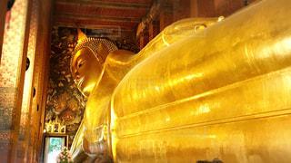 海外,黄色,鮮やか,旅行,大仏,寺,金色
