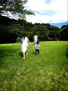 空,夏,芝生,屋外,子供,草,ランニング,初夏,かけっこ,愛知県,東海市
