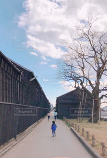 おいてけぼりの写真・画像素材[1851072]