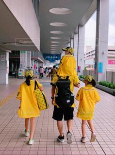 我が家は阪神応援団!の写真・画像素材[2365212]