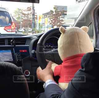 運転中!の写真・画像素材[1800307]