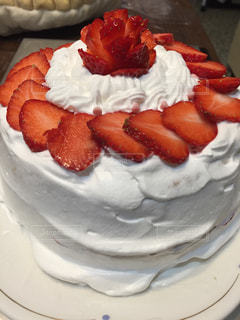 イチゴのケーキの写真・画像素材[1805601]