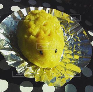 黄色,ハリネズミ,可愛い,おいしい,手作り,スイートポテト,ゴマ,ちくちく