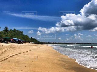 海,空,海外,砂浜,波,観光,海外旅行,バリ島,観光スポット,クタビーチ,クタ