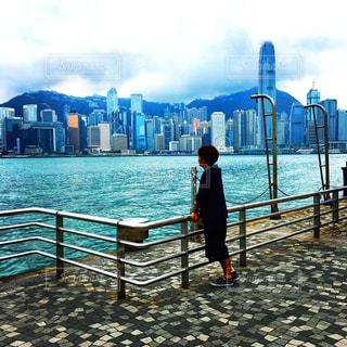 風景,海,香港,海外旅行