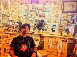 アメリカ,海外旅行,思い出,ルート66,アメリカ横断,barber