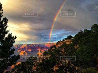 絶景,虹,アメリカ,観光,海外旅行,グランドキャニオン