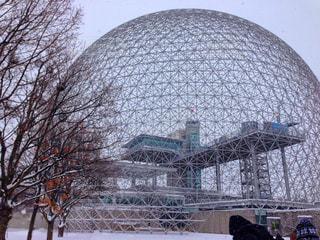 冬,雪,観光,カナダ,海外旅行,モントリオール,建築
