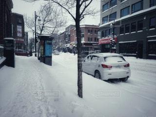 冬,街並み,雪,観光,カナダ,海外旅行,モントリオール