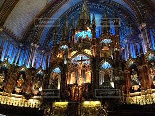 冬,観光,カナダ,海外旅行,モントリオール,建築,青の教会
