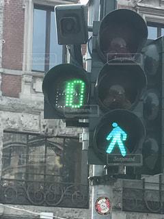 青,横断歩道,ミラノ