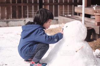 雪だるまの写真・画像素材[1818598]