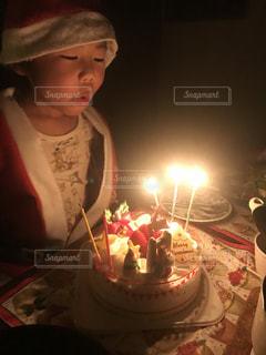 クリスマスケーキの写真・画像素材[2823535]