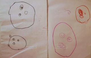 アート,子供,ペン,丸,手書き,紙,おえかき,おうち時間