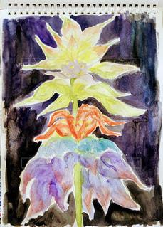 虫から見た花の写真・画像素材[3299336]