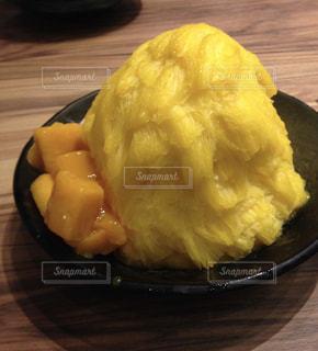 マンゴー,黄色,かき氷