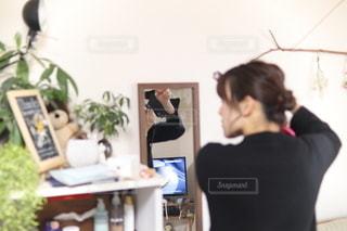 身支度の写真・画像素材[2486402]
