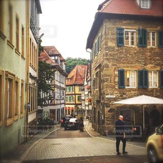 風景,建物,街並み,海外,ヨーロッパ,街,石畳,道,旅行,ドイツ,欧州,ストリート,町,海外旅行,通り,フォトジェニック,ヨーロッパ旅行,シュバビッシェハル