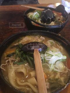 肉と野菜のスープの写真・画像素材[1799215]