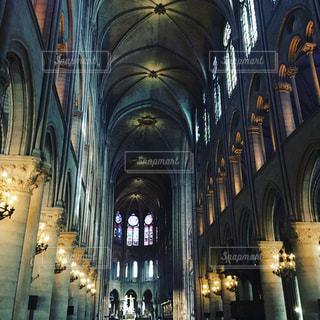 ノートルダム大聖堂の写真・画像素材[1814716]