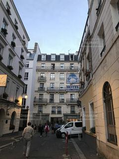 道路,ヨーロッパ,街,フランス,パリ,ホテル,海外旅行,通り道