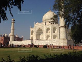 インドの観光地タージマハルの写真・画像素材[1819314]