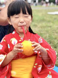 オレンジジュースの写真・画像素材[1824770]