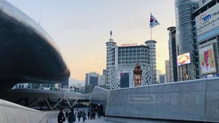 風景,観光,都会,旅行,韓国,海外旅行,建築,ソウル,南大門,ddp,デザインプラザ