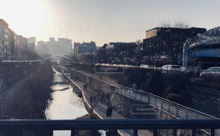 風景,川,旅行,韓国,夕陽,海外旅行,ソウル,PM2.5