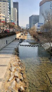 風景,川,都会,旅行,韓国,海外旅行,ソウル