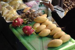 食べ物,野菜,食品,タイ,海外旅行,バンコク,ドラゴンフルーツ,食材,フレッシュ,ベジタブル,パパイヤ,水上マーケット