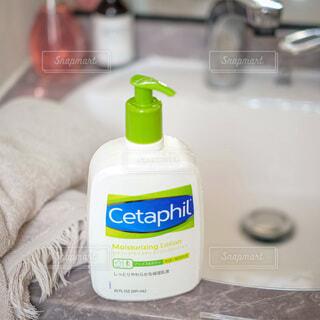 お風呂上がりにセタフィルの写真・画像素材[4641740]